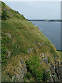 NS4074 : Dumbarton Rock and Castle by Thomas Nugent