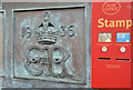 J5081 : Edward VIII postbox, Bangor (Co Down) by Albert Bridge