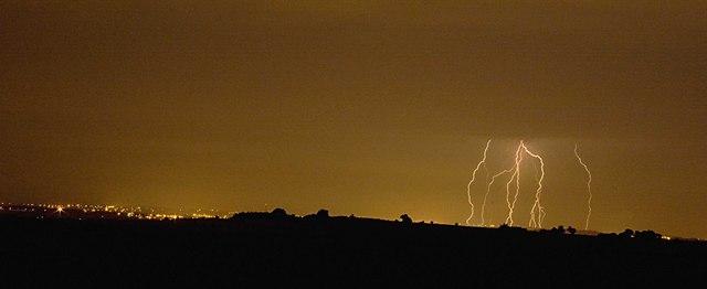 Storm over Northampton