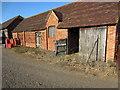 SP7324 : Barn at Bernwood Farm by Philip Jeffrey