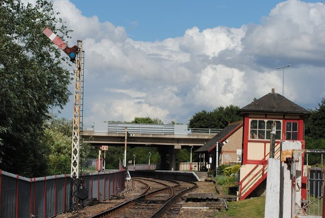 Orton Mere Station