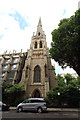 TQ2680 : Christ Church, Lancaster Gate - Spire by John Salmon