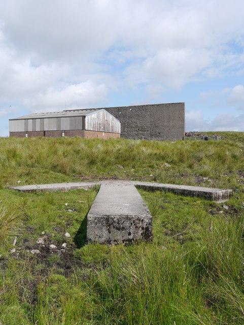 Braid Fell Bombing Range: Concrete Arrow & Target Wall