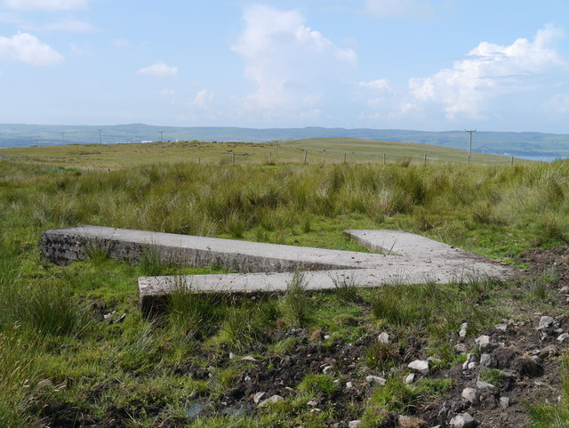 Braid Fell Bombing Range: Concrete Arrow (Alternative View)