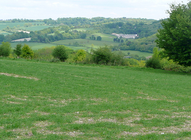 View across the Hambleden valley