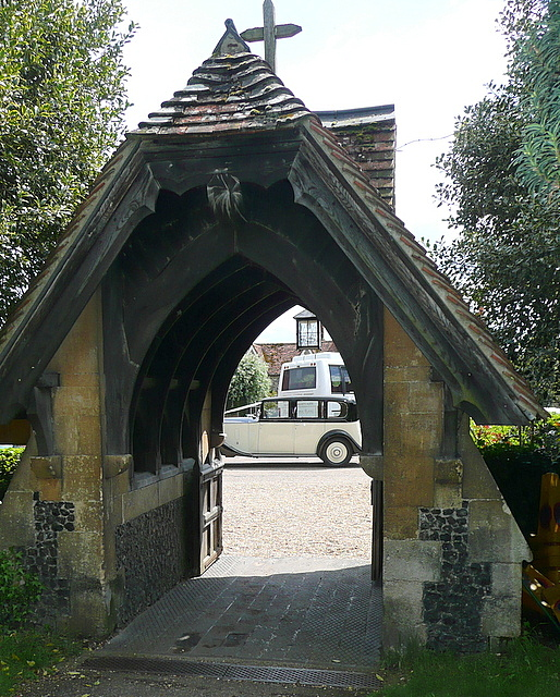 Hambleden church lych gate