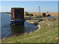 TQ0472 : Water tower, Staines reservoir : Week 31
