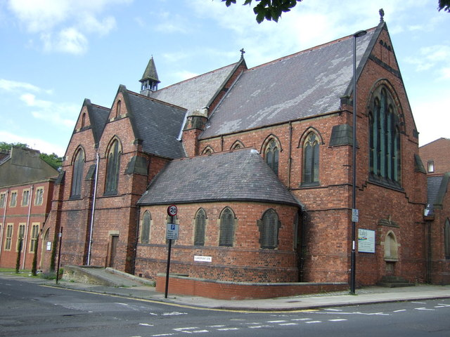 Church of St Luke, Spital Tongues