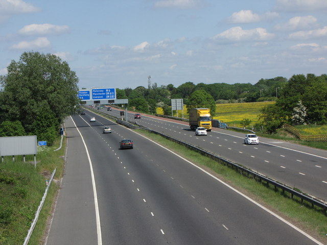 The M55 Motorway