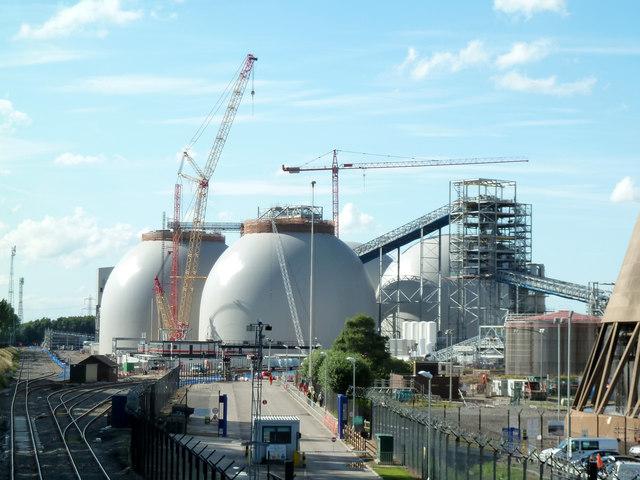 Drax Power Station Biomass Storage 169 Chris Allen