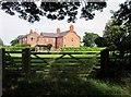 SJ4950 : Farm off Edge lane by Jeff Buck