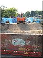 TQ7308 : Woodsgate Park bridge construction by Oast House Archive
