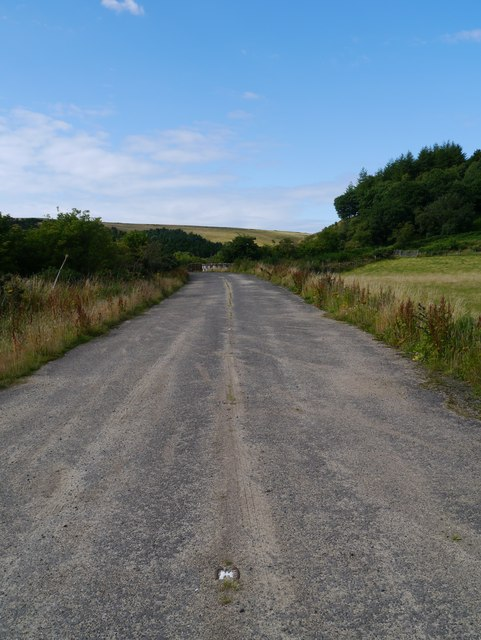 Old Section Of The A1, Penmanshiel