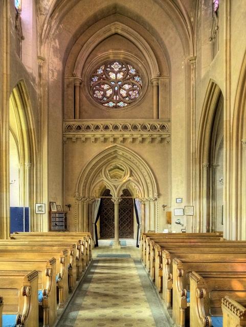 The Nave, Church of St Peter Ad Vincula,... © David Dixon ...