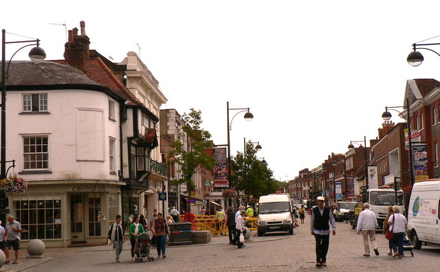 wycombe high street john bristow geograph britain and. Black Bedroom Furniture Sets. Home Design Ideas