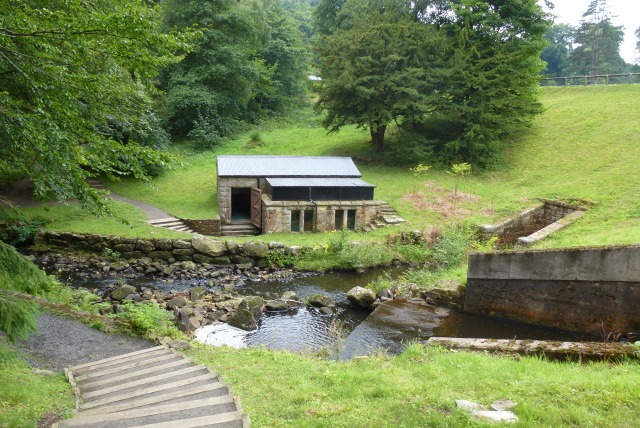 Pumphouse by Tumbleton Dam, Cragside