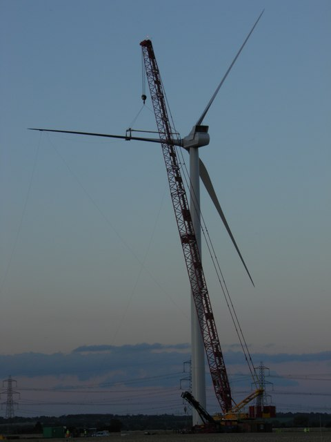 Turbine 19 Keadby Wind Farm