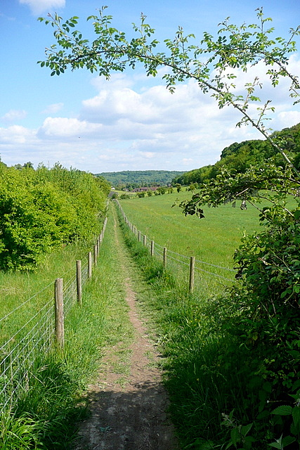 Footpath to Marlow