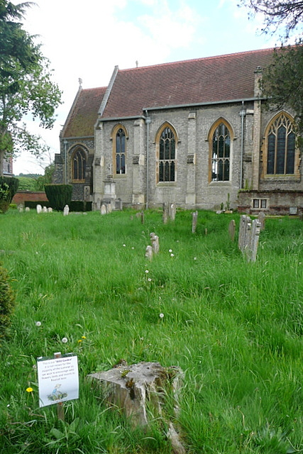 Marlow churchyard