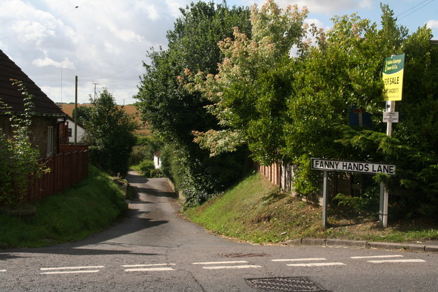 Fanny Hands Lane in Ludford