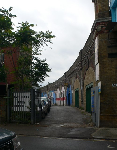 Kings Arches, Putney Bridge Road