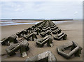 SJ2893 : Sea defences, Wallasey : Week 34