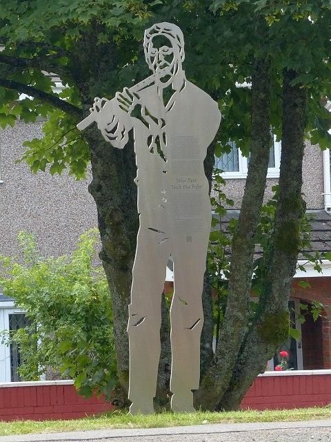 Jack the Fifer at Twyn Star, Dukestown, Tredegar