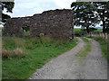 SD7018 : Derelict farm building by Stephen Burton
