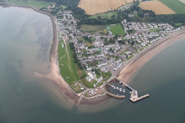 Cromarty from the Air