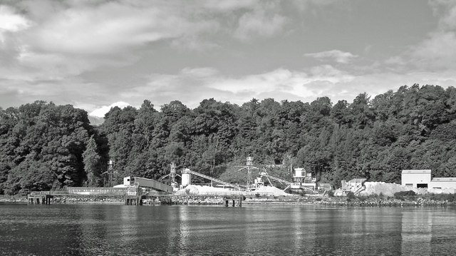 Silica Sand Mine and Jetty, Lochaline