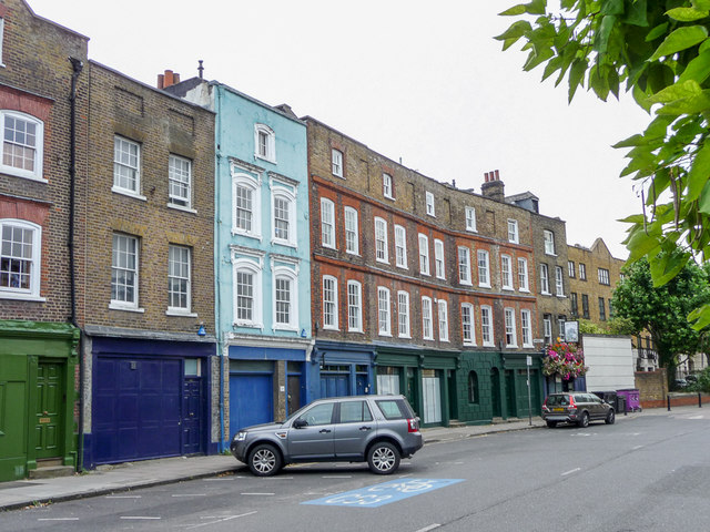 Houses In Narrow Street Limehouse Christine