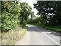 TL0948 : Cople Road, heading east to Cople by Christine Johnstone