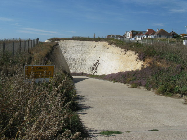 Authorised vehicles only on road to Peacehaven beach