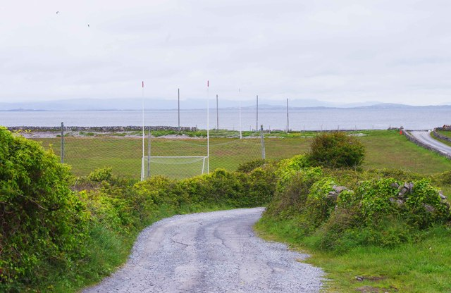 Sports field, near Onaght, Inishmór (Árainn), Aran Islands, Co. Galway