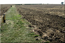 SP9746 : Bridleway to Meadow Farm by Philip Jeffrey