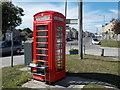 SY6971 : Easton: information kiosk in Wakeham by Chris Downer