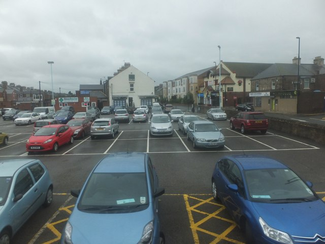 Car Park Gosforth High Street C Barbara Carr Geograph
