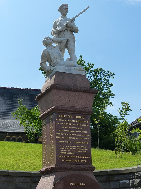 New Tredegar War Memorial