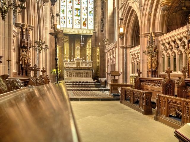 Clumber Chapel, Chancel