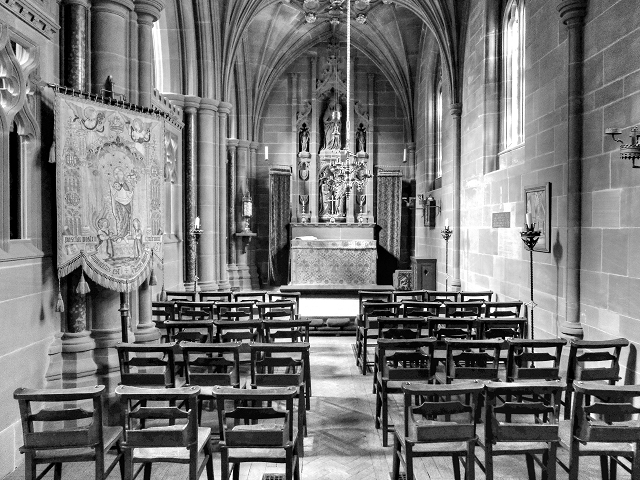 The Chapel of St Mary the Virgin, Clumber Park