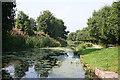 NS9976 : Union Canal at Preston Road Bridge by Anne Burgess