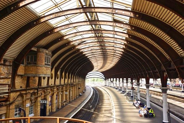 York Station Roof