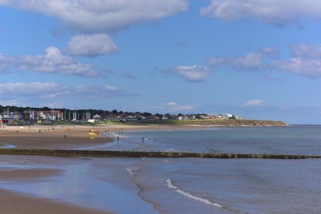 Seaburn Beach and Whitburn Bay, Sunderland