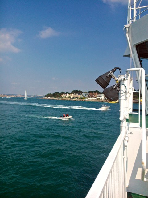 View from Sandbanks Ferry