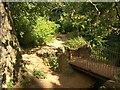 ST6376 : Bridge, Oldbury Court Estate by Derek Harper