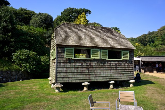 The Shack, Mottistone Manor Gardens