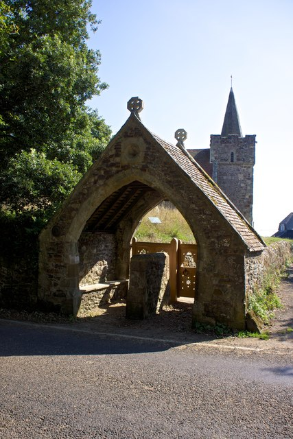 Lych Gate, Mottistone Church