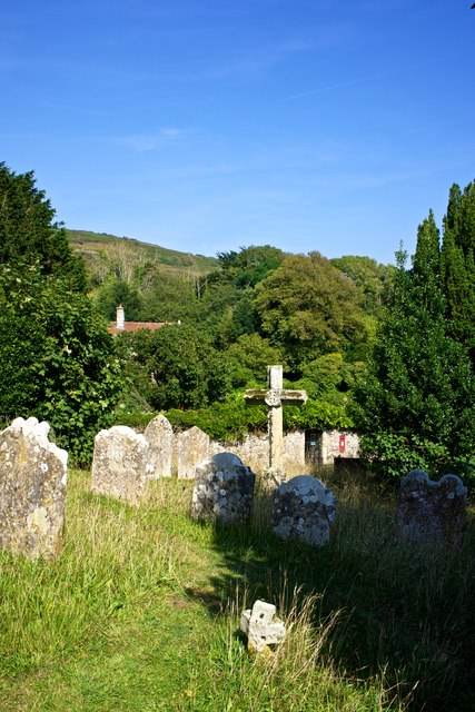 Graveyard, St Peter and St Paul Church, Mottistone