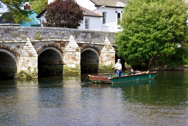 Bridge over River Avon, Christchurch