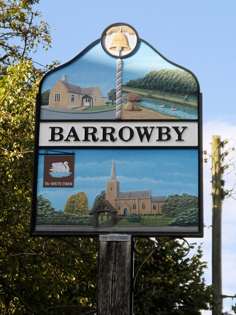 Barrowby Village Sign
